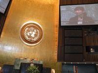 Yuka Saionji at the UN